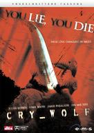 Cry Wolf - German DVD cover (xs thumbnail)