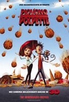 Cloudy with a Chance of Meatballs - Italian Movie Poster (xs thumbnail)