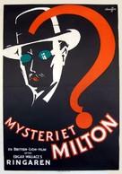 The Gaunt Stranger - Swedish Movie Poster (xs thumbnail)