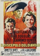 The Devil's Disciple - Italian Movie Poster (xs thumbnail)