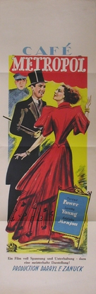 Café Metropole - Czech Movie Poster (xs thumbnail)