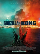 Godzilla vs. Kong - Slovak Movie Poster (xs thumbnail)
