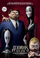 The Addams Family - Turkish Movie Poster (xs thumbnail)