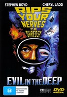 Evil in the Deep - Australian Movie Cover (xs thumbnail)