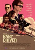 Baby Driver - Romanian Movie Poster (xs thumbnail)