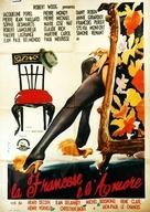 La française et l'amour - Italian Movie Poster (xs thumbnail)