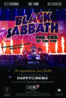 Black Sabbath the End of the End - Romanian Movie Poster (xs thumbnail)