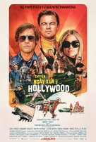 Once Upon a Time in Hollywood - Vietnamese Movie Poster (xs thumbnail)
