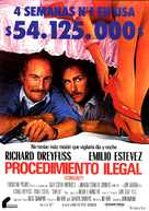 Stakeout - Spanish Movie Poster (xs thumbnail)