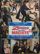 Zorro contro Maciste - Italian Movie Poster (xs thumbnail)