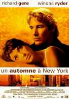 Autumn in New York - French Movie Poster (xs thumbnail)
