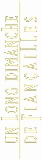 Un long dimanche de fiançailles - French Logo (xs thumbnail)
