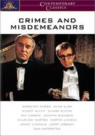 Crimes and Misdemeanors - DVD movie cover (xs thumbnail)