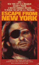 Escape From New York - VHS cover (xs thumbnail)