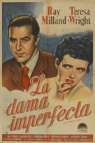 The Imperfect Lady - Argentinian Movie Poster (xs thumbnail)