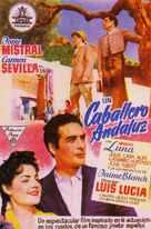 Un caballero andaluz - Spanish Movie Poster (xs thumbnail)