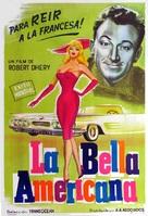 La belle Américaine - Argentinian Movie Poster (xs thumbnail)