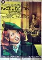 Face au destin - French Movie Poster (xs thumbnail)