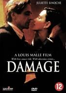 Damage - Dutch DVD movie cover (xs thumbnail)