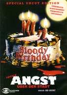 Bloody Birthday - German DVD cover (xs thumbnail)