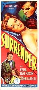 Surrender - Australian Movie Poster (xs thumbnail)