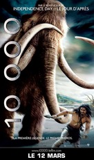 10,000 BC - French Movie Poster (xs thumbnail)