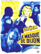 The Mask of Diijon - French Movie Poster (xs thumbnail)