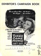 Three Came Home - Movie Poster (xs thumbnail)