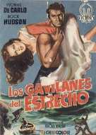Sea Devils - Spanish Movie Poster (xs thumbnail)