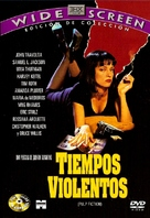 Pulp Fiction - Argentinian DVD movie cover (xs thumbnail)