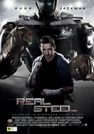 Real Steel - New Zealand Movie Poster (xs thumbnail)
