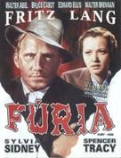 Fury - Brazilian Movie Cover (xs thumbnail)