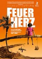 Feuerherz - German Movie Poster (xs thumbnail)