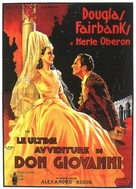 The Private Life of Don Juan - Italian Movie Poster (xs thumbnail)
