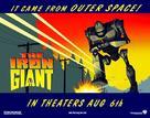 The Iron Giant - British Movie Poster (xs thumbnail)