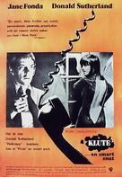 Klute - Swedish Movie Poster (xs thumbnail)