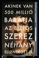 The Social Network - Hungarian Movie Poster (xs thumbnail)