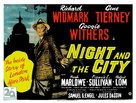 Night and the City - British Movie Poster (xs thumbnail)