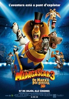 Madagascar 3: Europe's Most Wanted - Andorran Movie Poster (xs thumbnail)