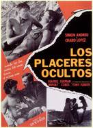 Los placeres ocultos - Spanish Movie Poster (xs thumbnail)