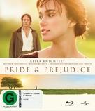 Pride & Prejudice - New Zealand Blu-Ray movie cover (xs thumbnail)
