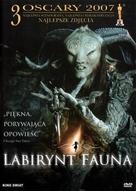 El laberinto del fauno - Polish Movie Cover (xs thumbnail)