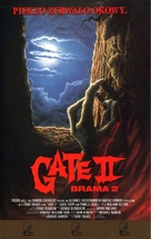 The Gate II: Trespassers - Polish Movie Cover (xs thumbnail)
