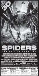 Spiders 3D - poster (xs thumbnail)