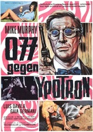 Agente Logan - missione Ypotron - German Movie Poster (xs thumbnail)