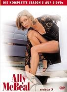 """Ally McBeal"" - German DVD movie cover (xs thumbnail)"