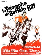 Pony Express - French Movie Poster (xs thumbnail)