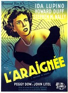 Woman in Hiding - French Movie Poster (xs thumbnail)