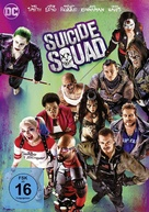 Suicide Squad - German Movie Cover (xs thumbnail)