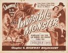 The Invisible Monster - Movie Poster (xs thumbnail)